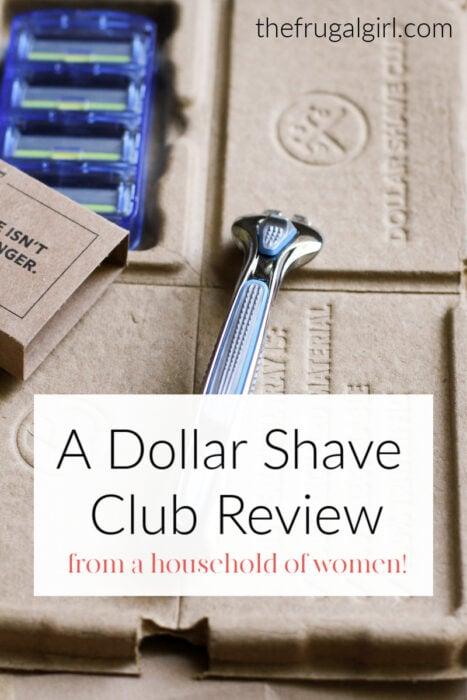 Pregled klubova za brijanje Dollar iz kućanstva žena