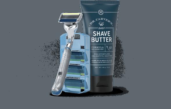 Starter kit za brijanje za dolar