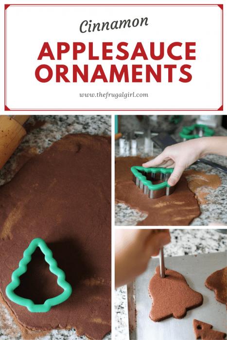 DIY Cinnamon Applesauce Ornament Recipe