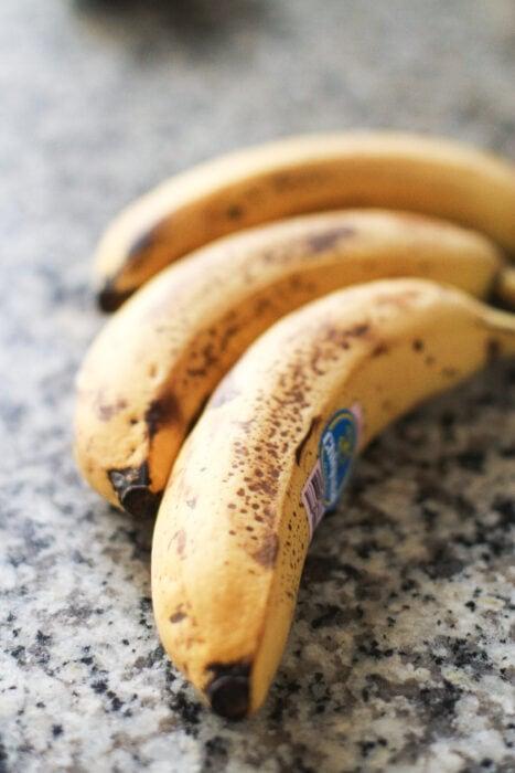 overmoden bananer