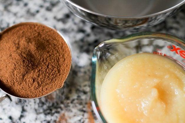 cinnamon and applesauce