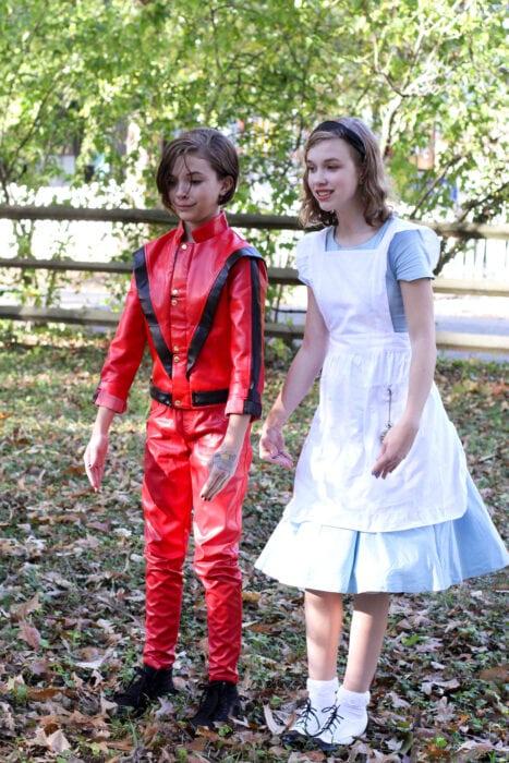 Michael Jackson Alice in Wonderland
