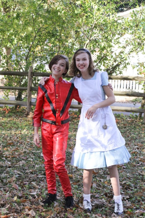Michael Jackson Alice in Wonderland costumes