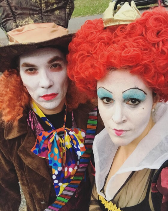 queen of hearts cosplay mad hatter