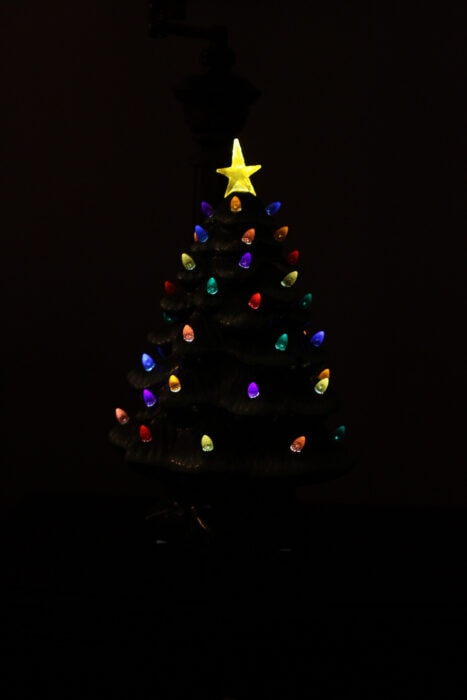 セラミッククリスマスツリー