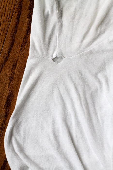undershirt repair