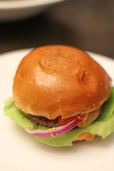 Washington's Green Grocer burger