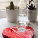 marked down Valentine chocolate