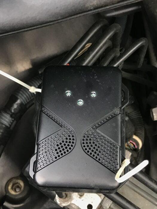 squirrel repellant nesting in engine