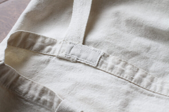 how to fix a hole in a cotton bag