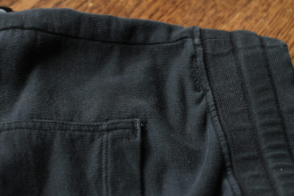 how to fix holes in joggers