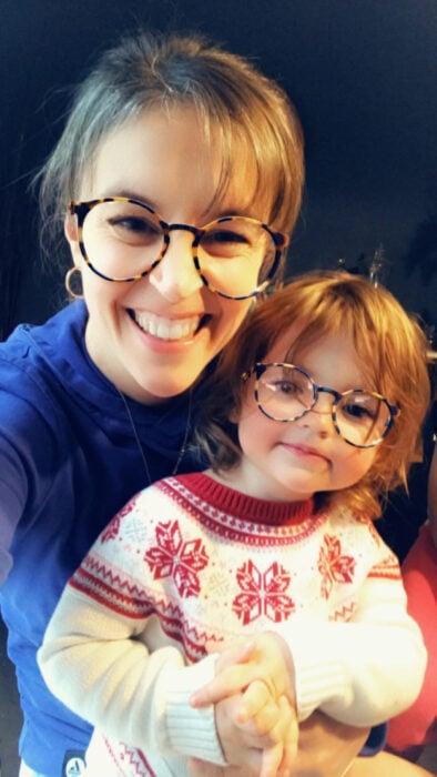 Kristen and niece