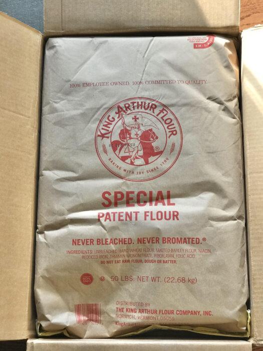 King Arthur bulk flour