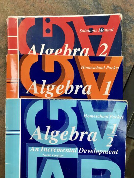 Saxon Algebra