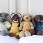 Sonia's knitted animals