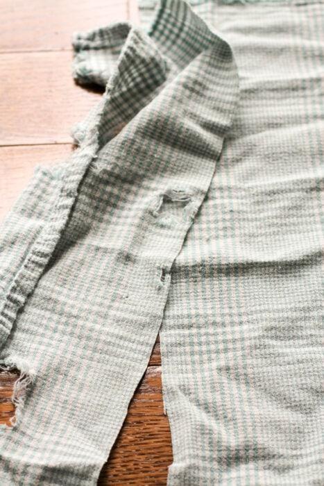 tea towel mending
