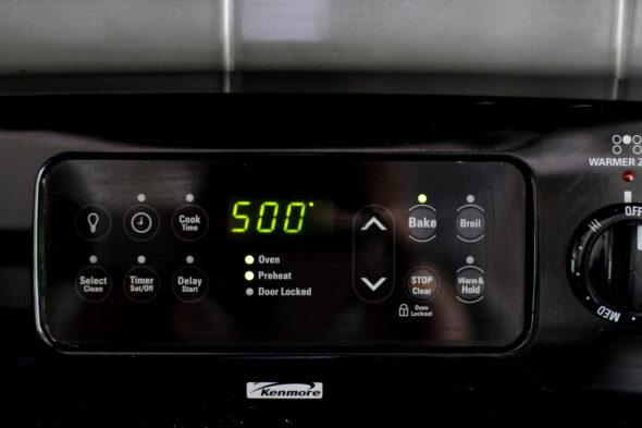 500 degree oven