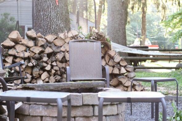 split oak firewood