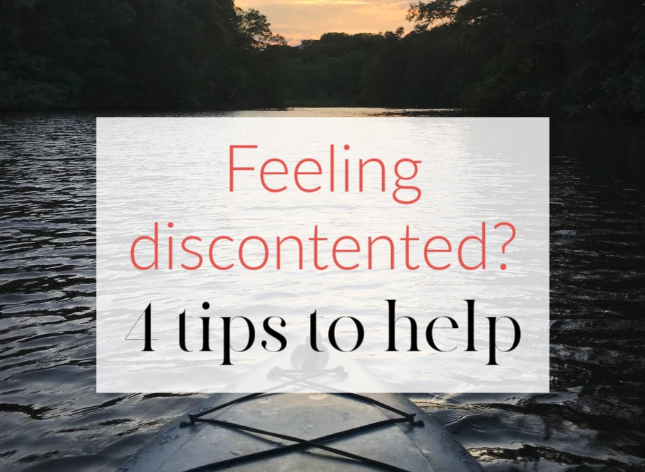 4 ways to feel contented