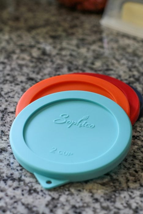 Silicone Pyrex replacement lid