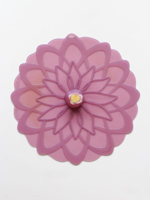 Purple Charles Viancin silicone lid