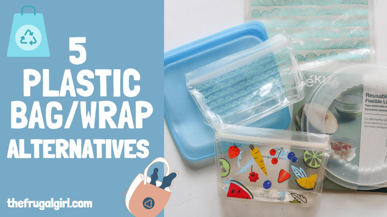 5 disposable plastic bag alternatives