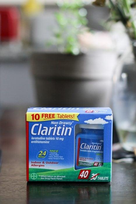 box of Claritin