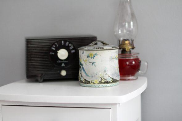 Sonia's painted nightstand