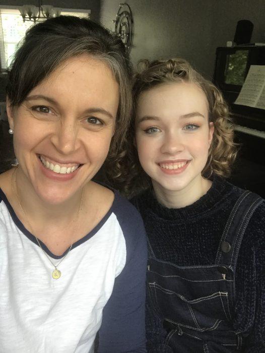 Kristen and Sonia