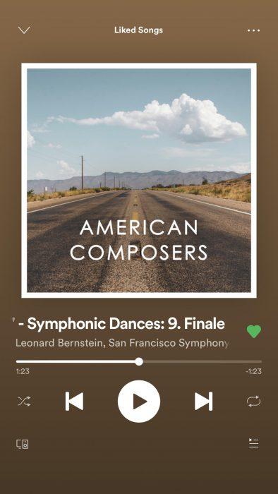 Bernstein Symphonic Dances album cover