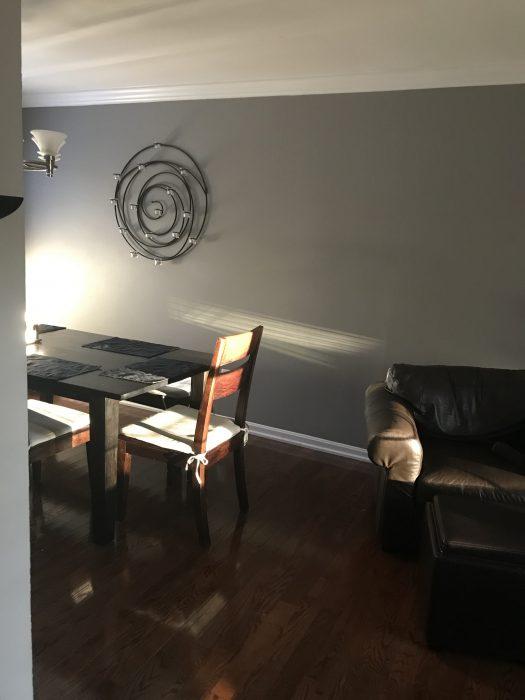 dining room wall