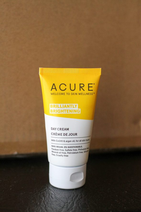 Acure face cream