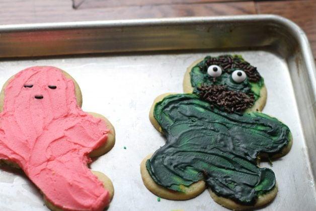 Oscar the Grouch cookie