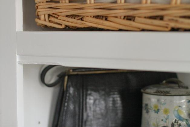 damaged shelf