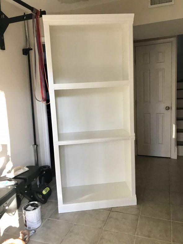 Thomasville bookshelf with white paint