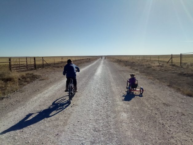 Kristin's dirt road