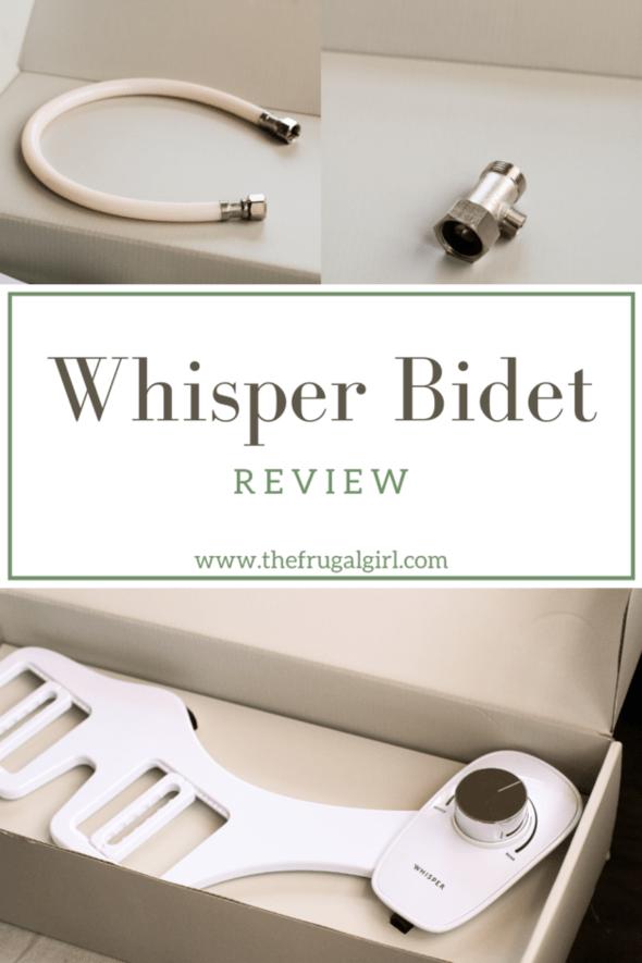 Whisper Bidet Review.