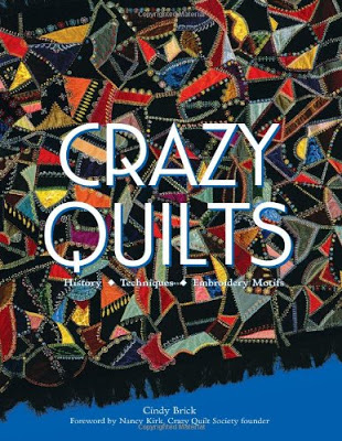 crazy Quilts book cover.