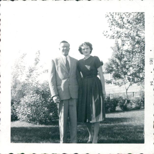 Kristen's grandma and grandpa in 1954.