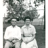 Kristen's grandma and grandpa in 1960.