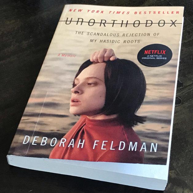 The cover of Unorthodox, by Deborah Feldman.