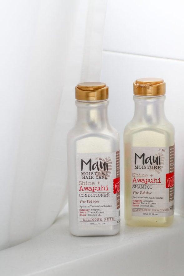 Two Maui Moisture products.