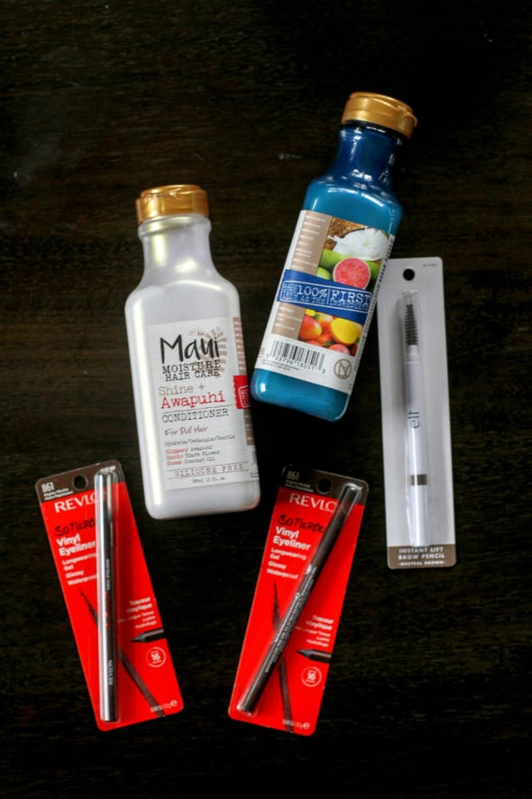 Five cosmetics produces from CVS.