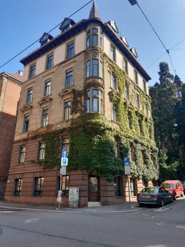 A German apartment building.